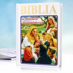biblia dla dzieci na chrzest