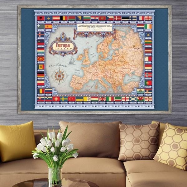 mapa europy na prezent dla nauczyciela
