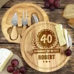deska do serwowania sera na prezent na 40 urodziny