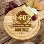 spersonalizowany prezent urodzinowy deska do serów