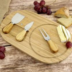 zestaw do serwowania sera na prezent urodzinowy z grawerem