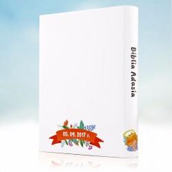 biblia dla dziecka z personalizowaną okładką