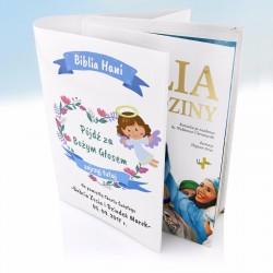 personalizowana okładka na biblię na prezent