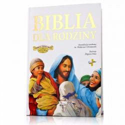 biblia na upominek z okazji chrztu