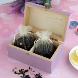 pudełko na herbatę na prezent dla niej na urodziny