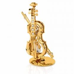 figurka skrzypce na prezent dla dziecka z okazji chrztu