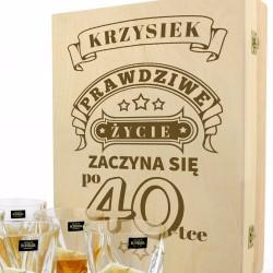 prezent na 40 urodziny dla miłośnika whisky