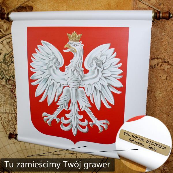 godło z hymnen polski