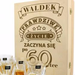 zestaw do whisky na prezent urodzinowy dla niego