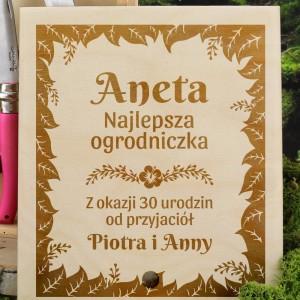 zestaw ogrodowy na prezent na 30 urodziny