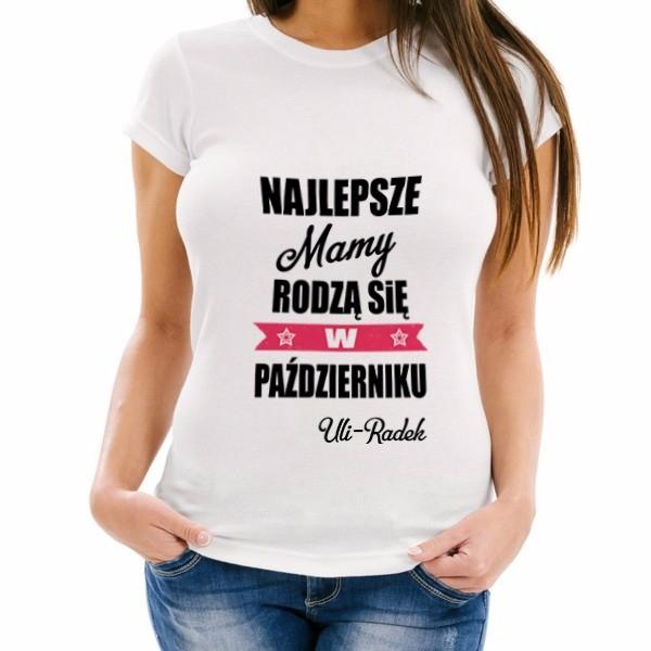 koszulka z personalizacją na prezent dla niej