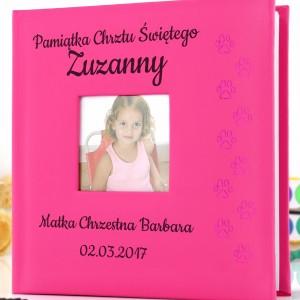 album z grawerem na prezent dla dziewczynki