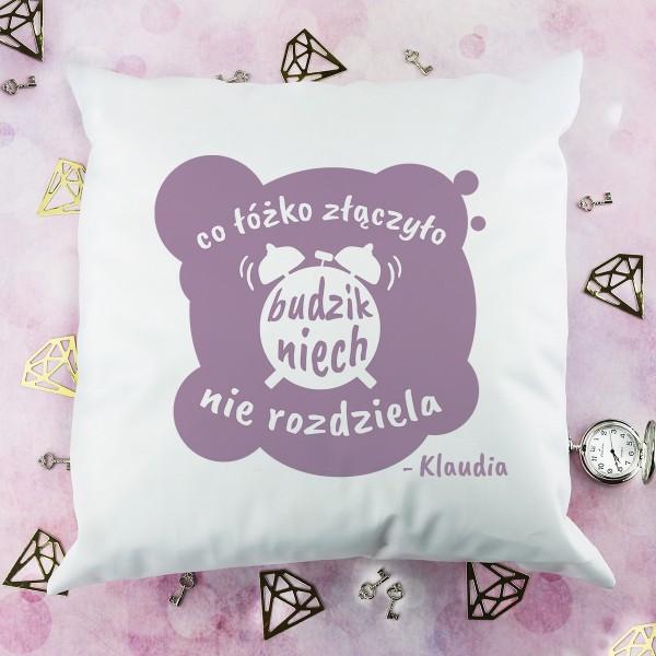 personalizowana poduszka na prezent dla niej