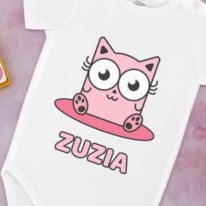 body niemowlęce na prezent dla dziewczynki