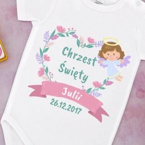 ubranko dla dziecka na prezent na chrzest