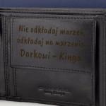portfel z grawerem na prezent dla niego na urodziny