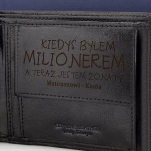 portfel milioner na prezent dla niego na urodziny