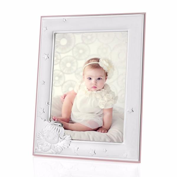 131597848ce480 Prezent na chrzest srebrna ramka dla dziewczynki z personalizacją