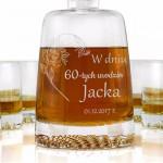 personalizowany zestaw do whisky na prezent dla niego