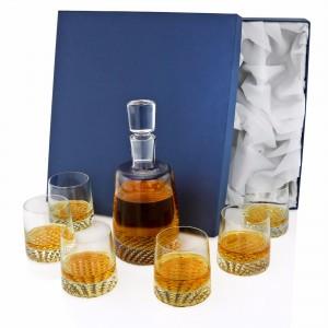 karafka na whisky na prezent na 60 urodziny