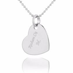 personalizowane serce na prezent dla żony