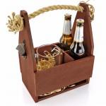 kufel z grawerem i skrzynka na piwo na prezent dla niego
