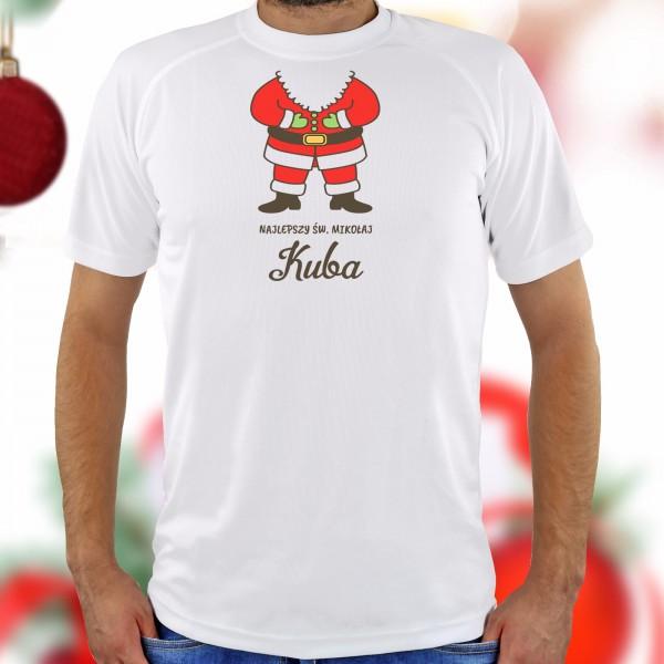 świąteczna koszulka z nadrukiem na prezent dla niego