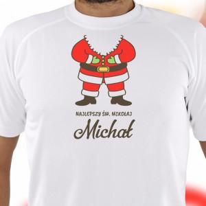 koszulka na święta na prezent dla męża