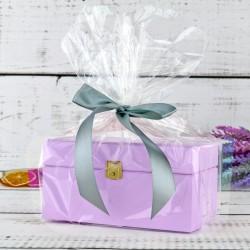 elegancka skrzynka na herbatę na oryginalny prezent na święta