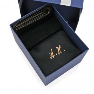 szalik z portfelem na prezent dla niego