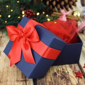 pudełeczko na prezent z kokardką