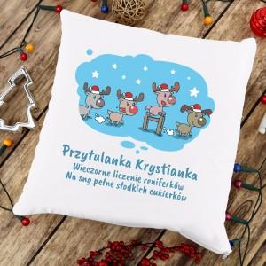 poduszka na prezent na święta dla dziecka