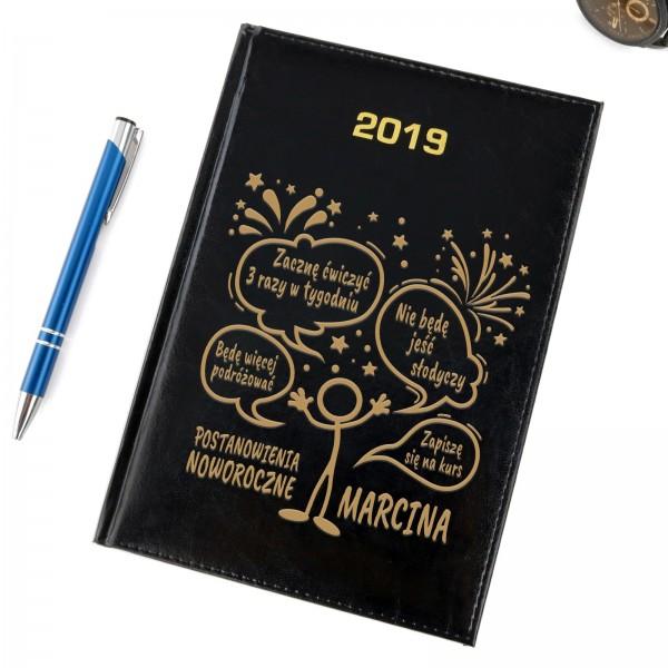 kalendarz na 2019 na prezent na święta