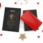 kalendarz na 2019 rok i portfel z grawerem