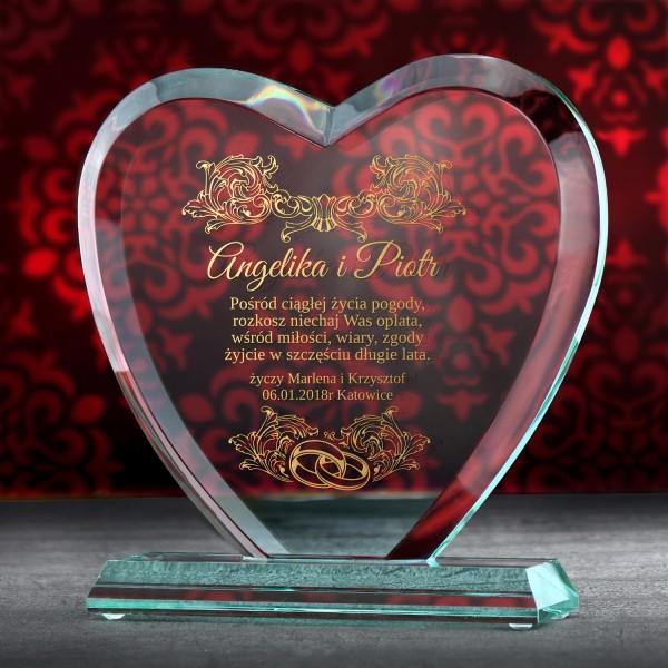 prezent dla pary na ślub z personalizacją