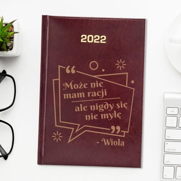 kalendarz 2022 z grawerem