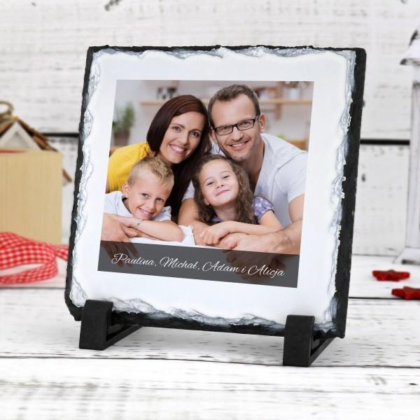 granit ze zdjęciem na prezent na walentynki