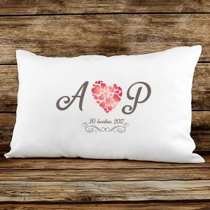personalizowana poduszka dla pary