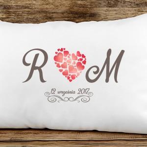 poduszka na prezent na ślub