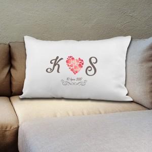 poduszka dla pary na prezent