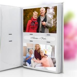 album na zdjęcia z dedykacją dla babci i dziadka