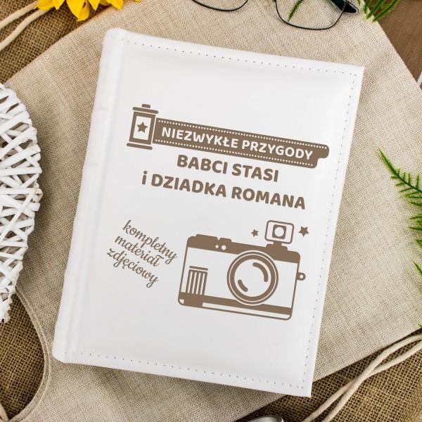 personalizowany album na zdjęcia dla babci i dziadka