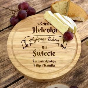 deska do serów dla babci na prezent