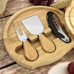 deska do serów z nożami na prezent dla babci na urodziny
