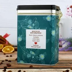 puszka na herbatę na prezent dla dziadków