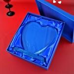 serce ze szkła dla babci na prezent