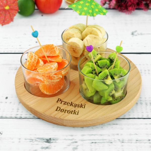 salaterki z grawerem na prezent