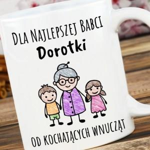 kubek z nadrukiem na prezent dla babci