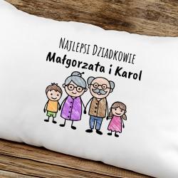 poduszka na prezent dla babci i dziadka