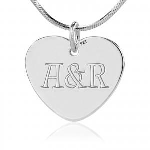 srebrna biżuteria na prezent dla zakochanych